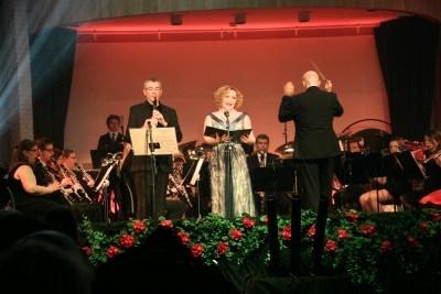 Cyrille Mercadier og Berit Mæland