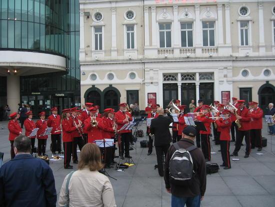 Konsert på Williamson Square